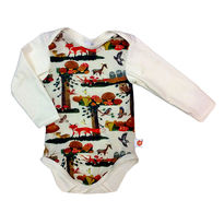 WOODS Long sleeved  baby's body tops