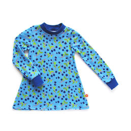 Tunic MUSTIKKA organic cotton blue