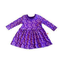 Order from the internet a beautiful flower tricot dress for your baby!