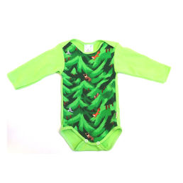 FIR baby's body tops, green